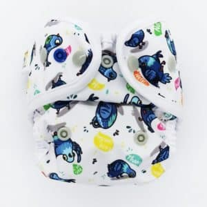 Otulacz S Little Birds Diapers