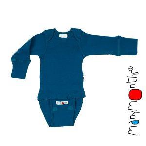 Manymonths wełniane body/koszulka z długim rękawem Newcomer