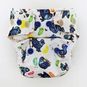 Otulacz MOS Little Birds Diapers