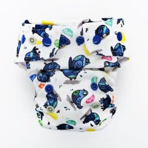 AIO HEAVY OS Little Birds Diapers