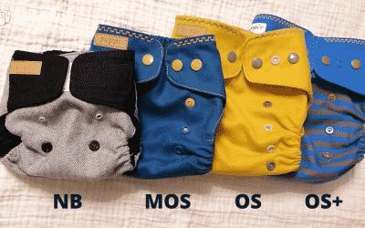 Rozmiar pieluch – już nie Newborn a jeszcze nie OS? Czy warto kupować rozmiary pośrednie?