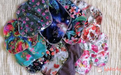 Podpaski wielorazowe – jak dobrać, jak prać?