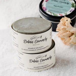 Dolina Czeremchy szampon w kostce melisowy