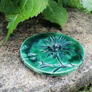 mydelniczka ceramiczna z dziurkami kwiat 2 Ręcznie robione mydelniczki ceramiczne z dziurkami. Wybierz wariant :) Więcej zdjęć poszczególnych wariantów w opisie produktu.