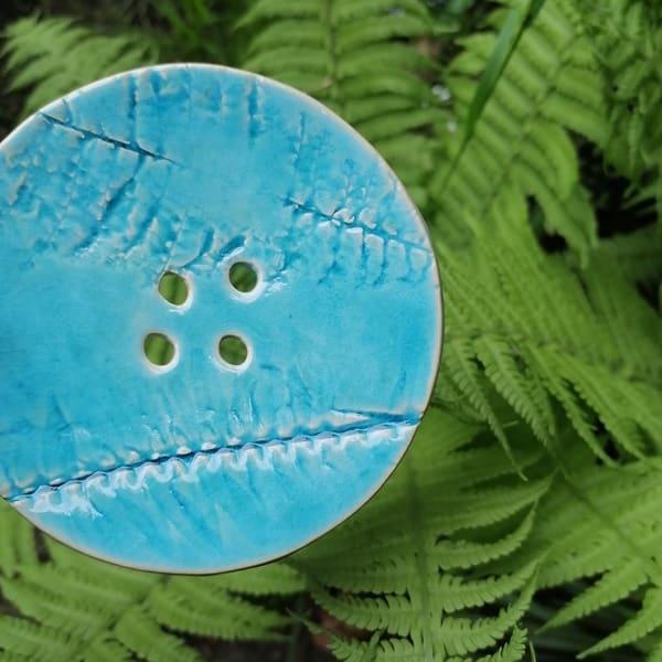 mydelniczka ceramiczna z dziurkami liscie paproci 3 Ręcznie robione mydelniczki ceramiczne z dziurkami. Wybierz wariant :) Więcej zdjęć poszczególnych wariantów w opisie produktu.