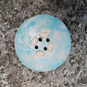 mydelniczka ceramiczna z dziurkami liscie paproci 7 Ręcznie robione mydelniczki ceramiczne z dziurkami. Wybierz wariant :) Więcej zdjęć poszczególnych wariantów w opisie produktu.