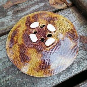 mydelniczka ceramiczna z dziurkami vintage 3 Ręcznie robione mydelniczki ceramiczne z dziurkami. Wybierz wariant :) Więcej zdjęć poszczególnych wariantów w opisie produktu.