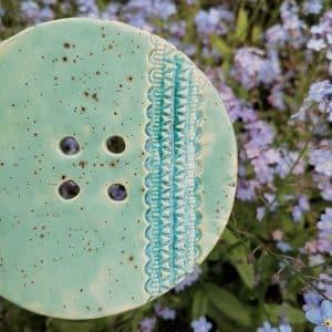 mydelniczka ceramiczna z dziurkami z koronka 5 Ręcznie robione mydelniczki ceramiczne z dziurkami. Wybierz wariant :) Więcej zdjęć poszczególnych wariantów w opisie produktu.